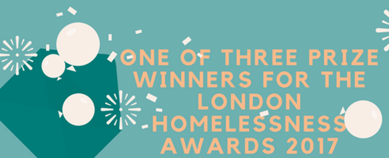 London Homelessness Awards - the final three!