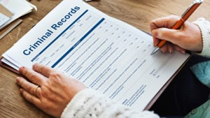 Applying for work with a criminal record